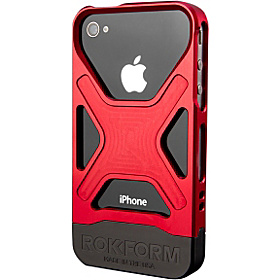 Rokbed Fuzion for iPhone 4 & 4S Red