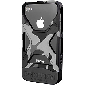 Rokbed Fuzion for iPhone 4 & 4S Night Camo