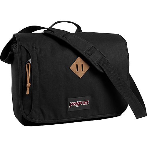 JanSport Cross Talk 15 Laptop Messenger Black - JanSport Laptop Messenger Bags - Messenger Bags, Laptop Messenger Bags