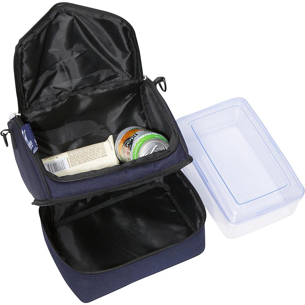 Wildkin Whale Blue Double Decker Lunch Bag - Whale Blue
