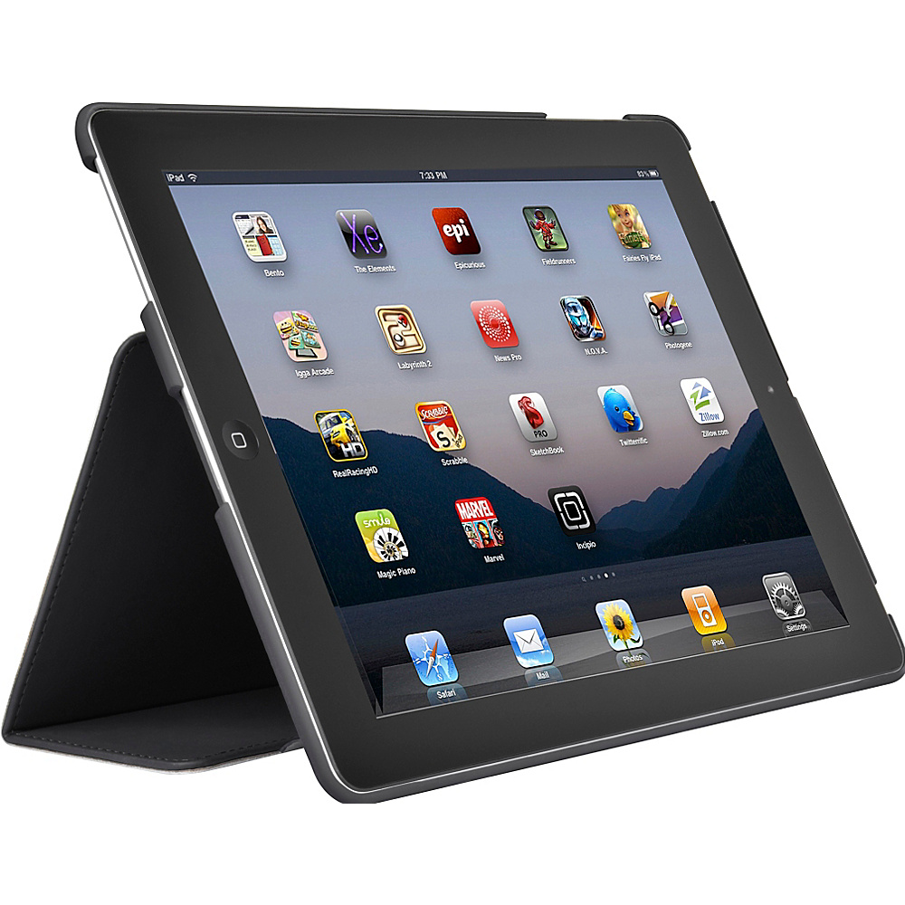 Incipio Lexington for new iPad - Gray - Technology, Electronic Cases