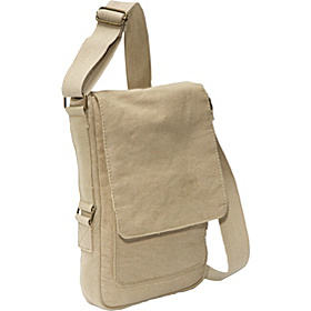 Vintage Canvas iPad Bag Khaki
