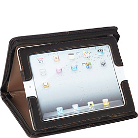 Vintage Leather iPad Padfolio  Espresso