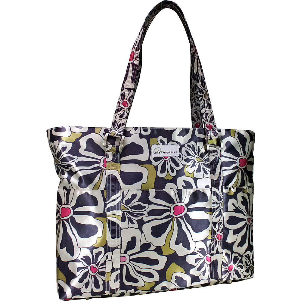 Amy Michelle Austin - Charcoal Floral - Handbags, Diaper Bags & Accessories
