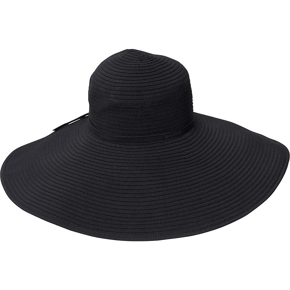 San Diego Hat Ribbon Braid Hat XL Brim - Black - Fashion Accessories, Hats/Gloves/Scarves