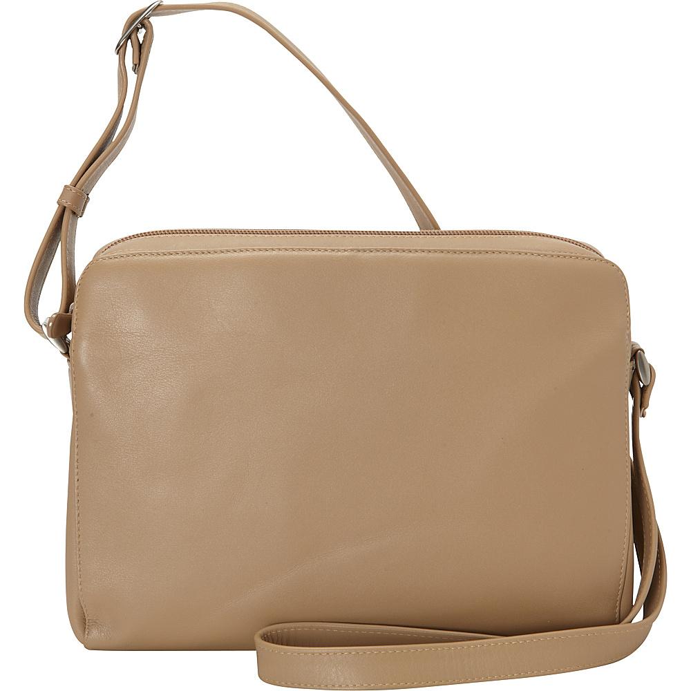 Derek Alexander EW Top Zip Camel - Derek Alexander Leather Handbags - Handbags, Leather Handbags