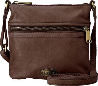 Fossil Explorer Minibag Espresso - Fossil Leather Handbags