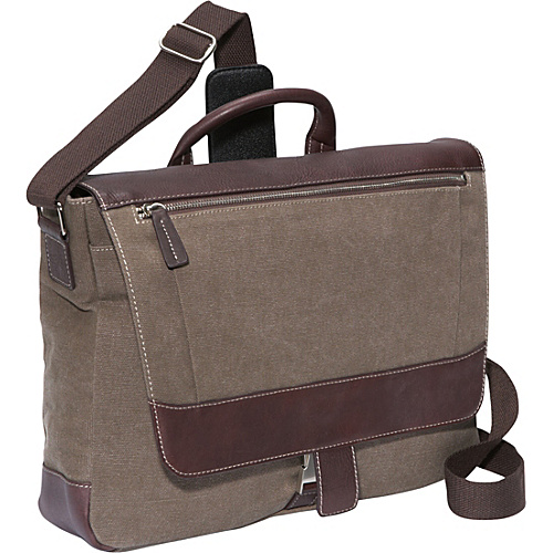 Bellino Autumn Laptop Messenger Brown - Bellino Laptop Messenger Bags
