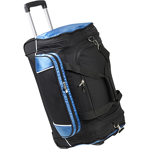 "Bellino 24"" Rolling Duffel Blue - Bellino Travel Duffels"
