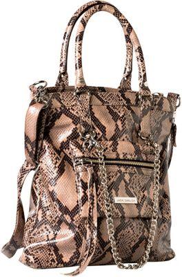 Jacki Easlick Tote with Detachable Mini Bag Python - Jacki Easlick Leather Handbags