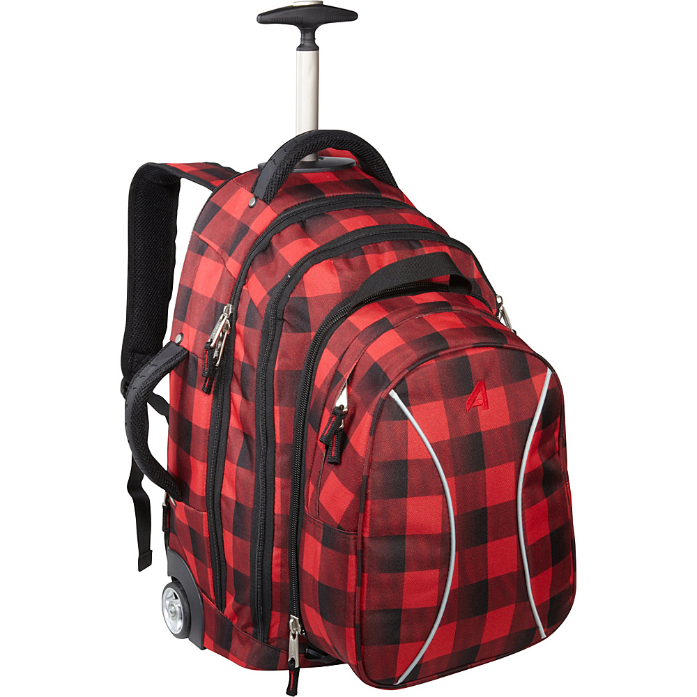 Athalon Wheeling Backpack Lumberjack Athalon Rolling Backpacks