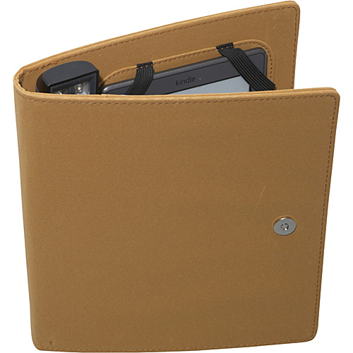 Periscope Cover & Light Folio for Kindle Wi-Fi, Kindle Touch, and nook Simple Touch Camel - Periscope Personal Electronic Cases
