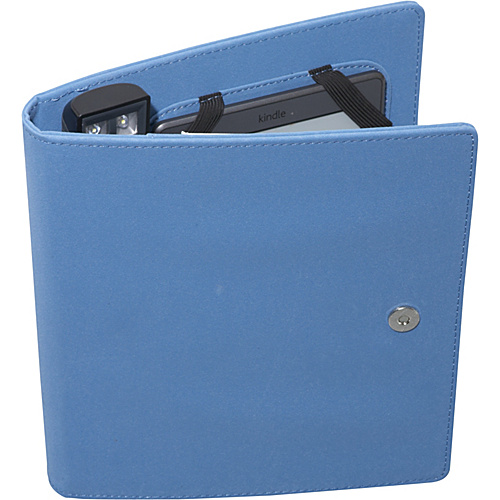 Periscope Cover & Light Folio for Kindle Wi-Fi, Kindle Touch, and nook Simple Touch Steel - Periscope Personal Electronic Cases