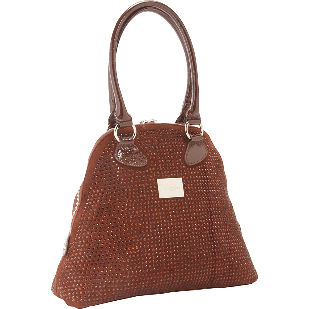 Vizzini Inc. Mint Chocolate Brown Vizzini Inc. Leather Handbags