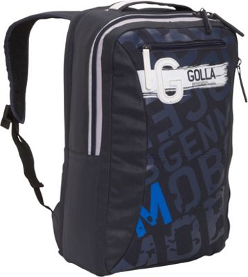 Golla Herman 16 Laptop Backpack Dark Blue - Golla Computer Backpacks