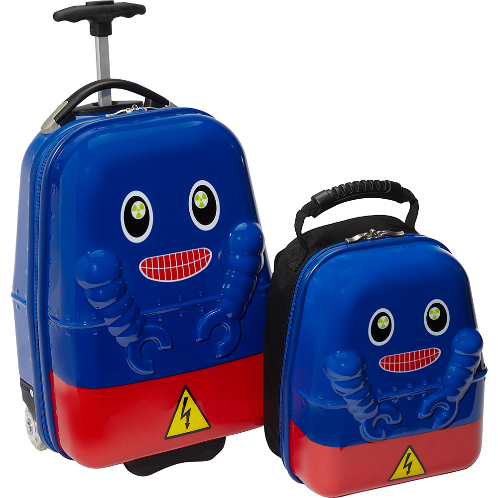 TrendyKid Travel Buddies Rusty Robot Robot - TrendyKid Luggage Sets