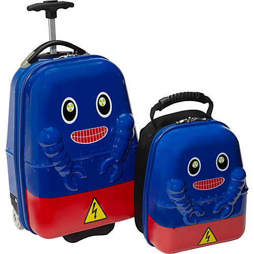 TrendyKid Travel Buddies Rusty Robot Robot - TrendyKid Kids' Luggage