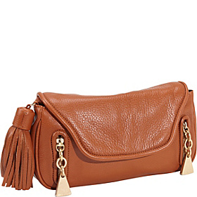 Cherry Clutch With Removable Strap Sienna