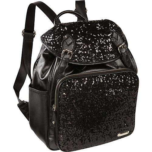 Nine West Handbags Flashlite Backpack Black - Nine West Handbags Manmade Handbags