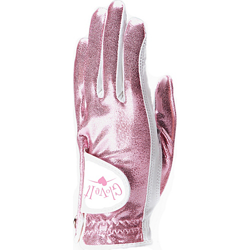 Glove It Pink Clear Dot Glove Pink Left Hand Small - Glove It Golf Bags