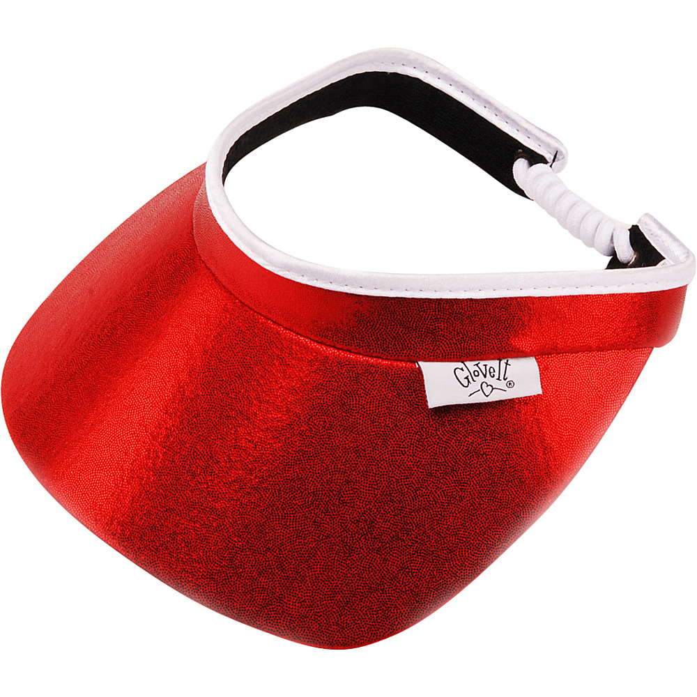 Glove It Red Clear Dot Visor