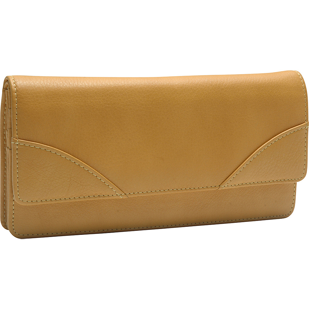 TUSK LTD Donington Napa French Clutch Golden TUSK LTD Women s Wallets