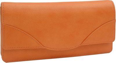 TUSK LTD Donington Napa French Clutch Tangerine - TUSK LTD Women's Wallets