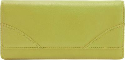 TUSK LTD Donington Napa French Clutch Lime - TUSK LTD Women's Wallets