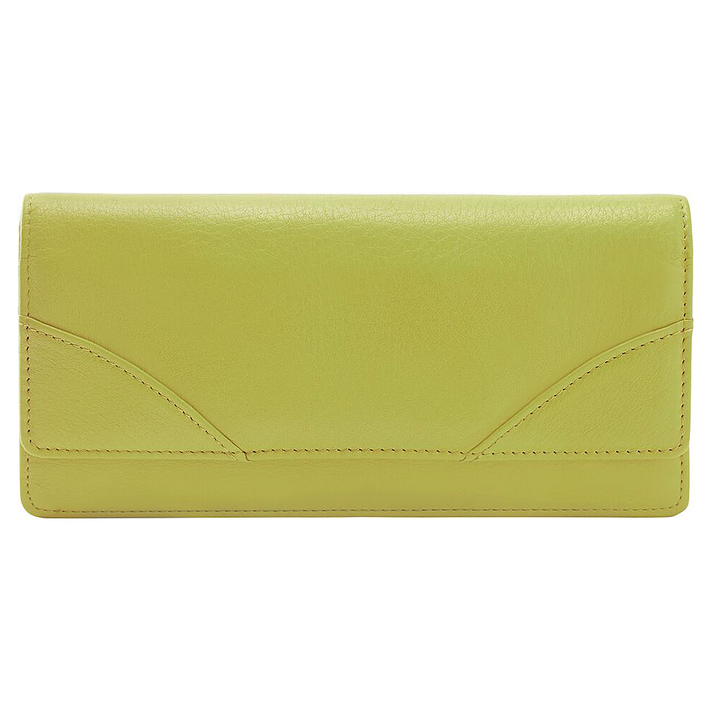 TUSK LTD Donington Napa French Clutch Lime TUSK LTD Women s Wallets