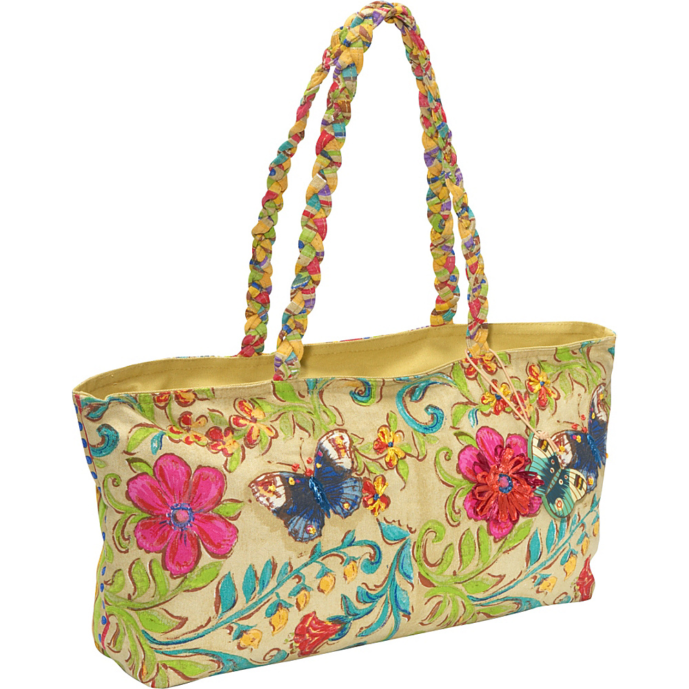 Sun N Sand Madison Garden Multi Sun N Sand Fabric Handbags