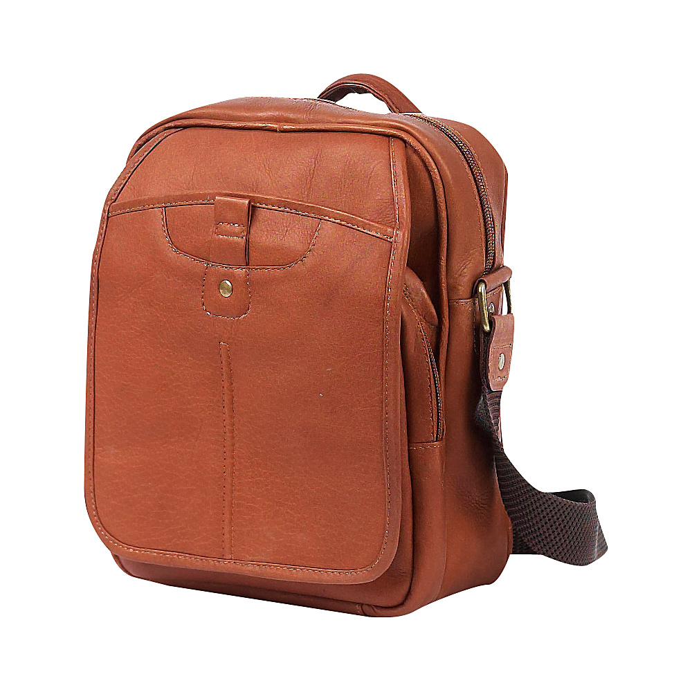 ClaireChase Classic iPad Man Bag Saddle - ClaireChase Other Men's Bags