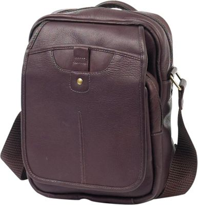 Image of ClaireChase Classic iPad Man Bag Cafe - ClaireChase Men's Bags