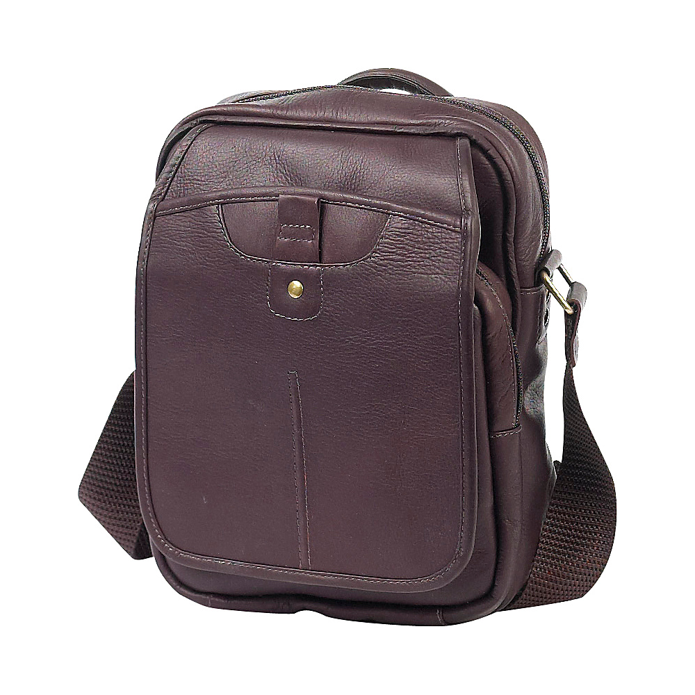 ClaireChase Classic iPad Man Bag Cafe - ClaireChase Other Men's Bags