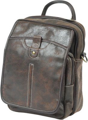ClaireChase Classic iPad Man Bag Distressed Brown - ClaireChase Other Men's Bags