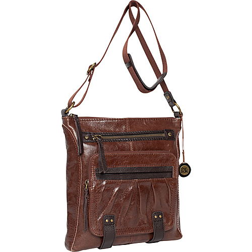 The Sak Iris Utility Crossbody Bag Teak - The Sak Leather Handbags