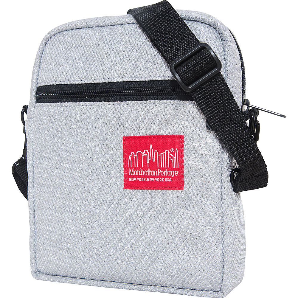 Manhattan Portage Midnight City Lights (SM) Gray - Manhattan Portage Fabric Handbags - Handbags, Fabric Handbags