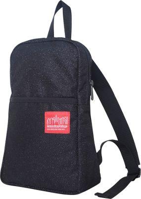 Manhattan Portage Midnight Ellis Backpack Black - Manhattan Portage Fabric Handbags