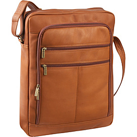 17'' Laptop Organizer Bag Tan