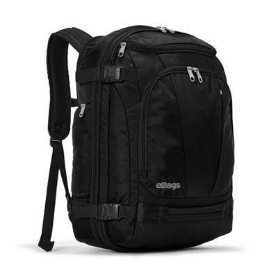 eBags TLS Mother Lode Weekender Convertible Junior Solid Black - eBags Travel Backpacks