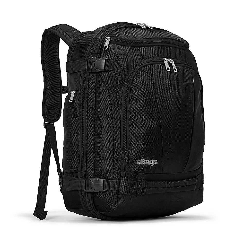 eBags TLS Mother Lode Weekender Convertible Junior Solid Black - eBags Travel Backpacks