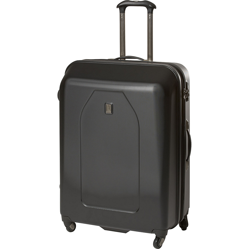 "Travelpro Crew 9 Exp 29"" Hardside Spinner Luggage CLOSEOUT Black - Travelpro Hardside Checked"