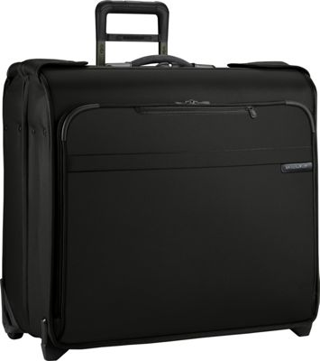 Briggs & Riley Baseline Wheeled Wardrobe Black - Briggs & Riley Garment Bags