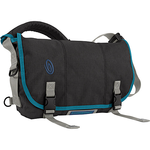 Timbuk2 Eco-Friendly Full-Cycle Messenger Bag - XS Black Recycled Ripstop - Timbuk2 Messenger Bags
