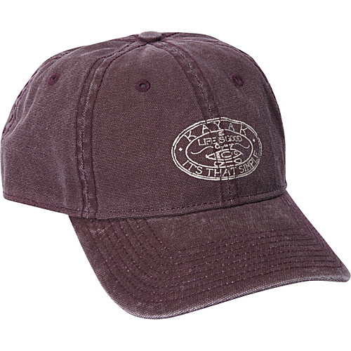 fcd6a2e59c2 Life is good Men s Canvas Chill Cap Burgundy - Life is good Hats (10211774  19110