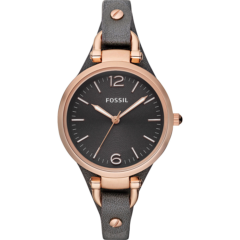 Fossil Georgia Ash Grey - Fossil Watches - Fashion Accessories, Watches