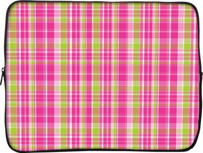 Designer Sleeves iPad Sleeve by Got Skins? And Designer Sleeves Pink & Green Plaid - Designer Sleeves Electronic Cases