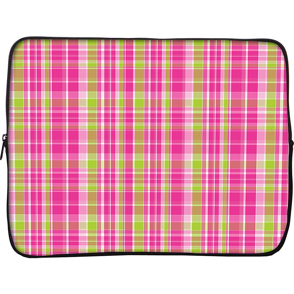 Designer Sleeves iPad Sleeve by Got Skins? And Designer Sleeves Pink Green Plaid Designer Sleeves Electronic Cases