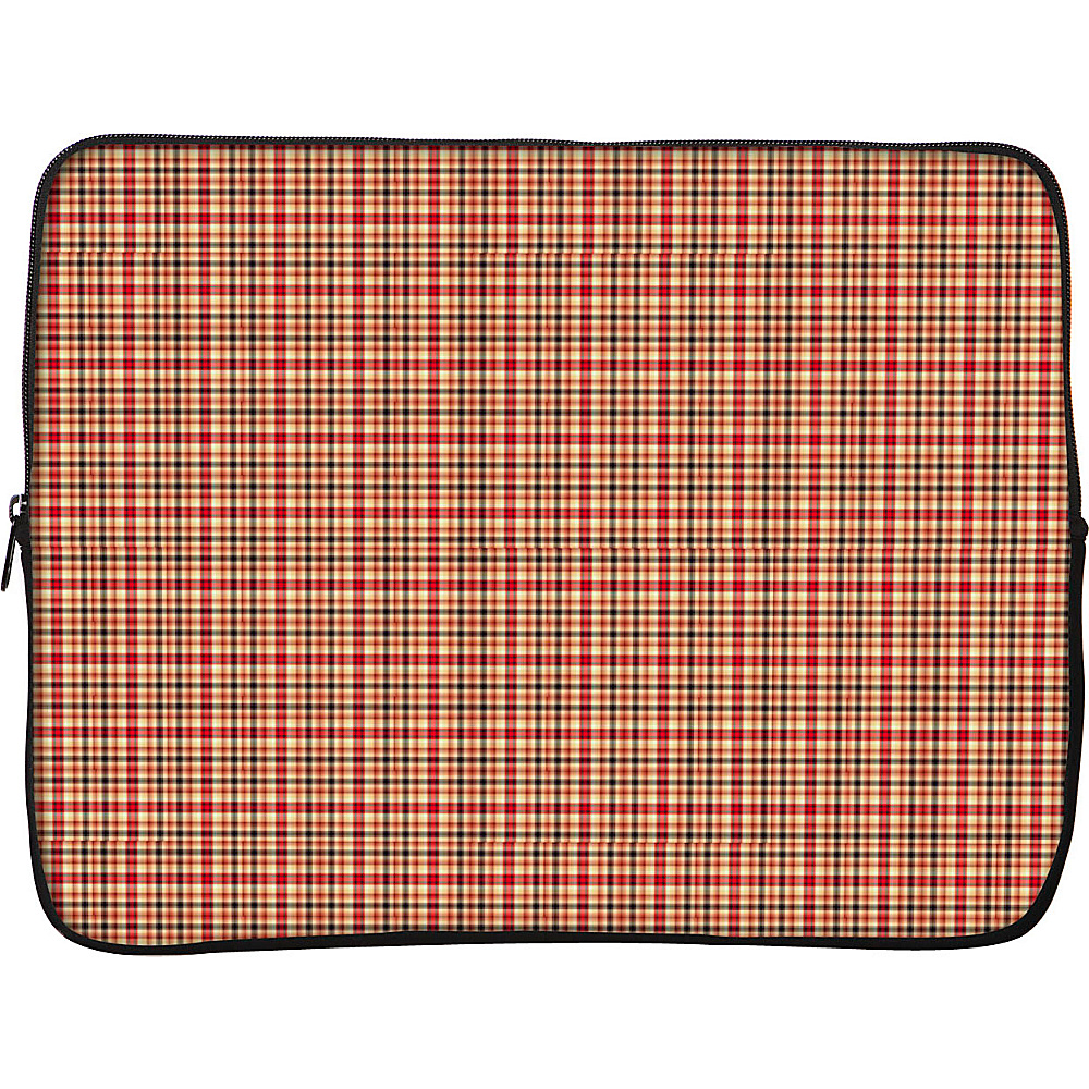 Designer Sleeves iPad Sleeve by Got Skins? And Designer Sleeves Rusty Plaid Designer Sleeves Electronic Cases