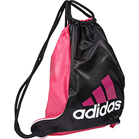 Bolt Sackpack Black/Radiant Pink