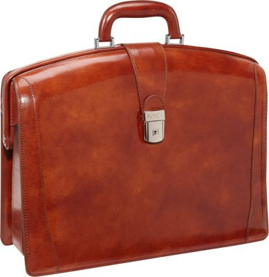 Bosca Partners Brief Old Leather Amber